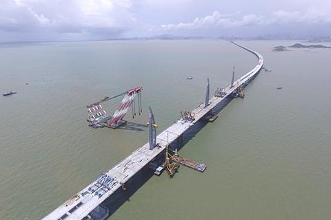 港珠澳大桥爆贪污案 香港廉政公署拘21人