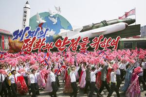 今年第八次发射导弹,朝鲜三十年任性导弹梦