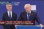 特朗普批北约成员:多国军费未达标  这对美国不公平