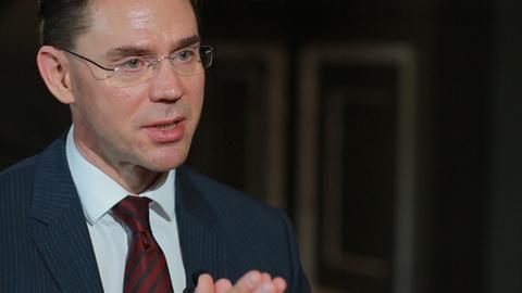 【片花预播】欧盟副主席卡泰宁:希望中欧坚持投资互惠互利原则