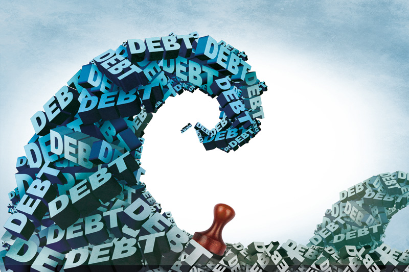 By the end of 2016, combined debt of central and local governments in China stood at 27.3 trillion yuan ($4 trillion), with a debt-to-GDP ratio of about 36.7%.