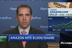 亚马逊股价破1000美元