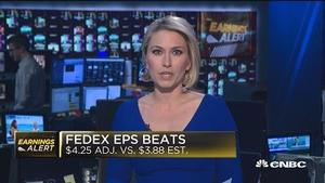 联邦快递二季度业绩超预期 股价涨超2%