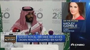 沙特撤换王储 新王储为国王之子
