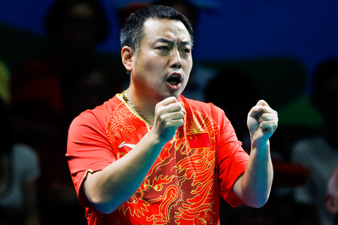 Liu Guoliang is a well-known table tennis player, the first to secure every title at major world tournaments, including the World Championships, World Cup and the Olympic Games. Photo: Visual China