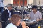 卡兰尼克离职后现身 与摩根大通CEO吃午餐