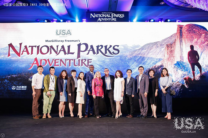 China is first global market granted permission to broadcast award-winning film celebrating the USA's great outdoors and national parks outside of theatres.