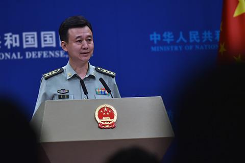 """国防部回应""""美国测试'萨德'时中国军舰出现在阿拉斯加附近水域"""""""