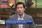 iPhone问世10周年 苹果市值翻10倍