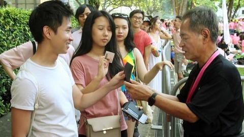 新加坡LGBT群体游行受限 外国人不得参加