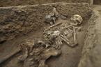 济南考古发现5000年前身高1米9古人 住联排大房