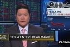 特斯拉股票进入熊市