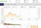 今日午盘:周期股延续涨幅 沪指震荡下跌0.21%