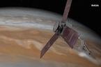 NASA航天器首次飞跃木星眼