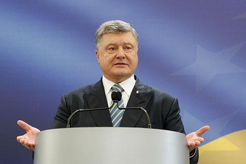 乌克兰总统要求尽快实现顿巴斯地区停火