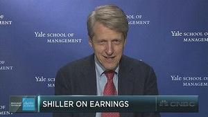 罗伯特·席勒:业绩突增后股票估值或回落