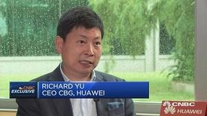 华为余承东:聚焦发达国家 瞄准高端市场发力