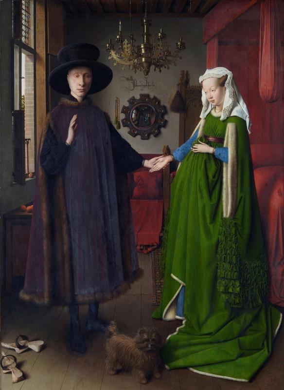 《乔瓦尼•阿尔诺芬尼与他妻子》