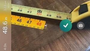 新AR应用让iPhone变卷尺
