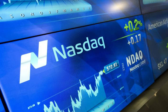 The new Nasdaq Analytics Hub helps traders extract actionable information from vast data sets through machine intelligence — a type of artificial intelligence that mimics human predictions. Photo: IC