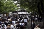 日相安倍未参拜靖国神社但仍供奉祭品 中方表示坚决反对