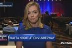 北美自贸协定谈判重启 美与加、墨存重大分歧