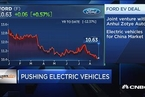 福特联手众泰为中国市场打造电动汽车