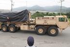 萨德剩余发射车运抵星州 驻韩美军完成萨德部署