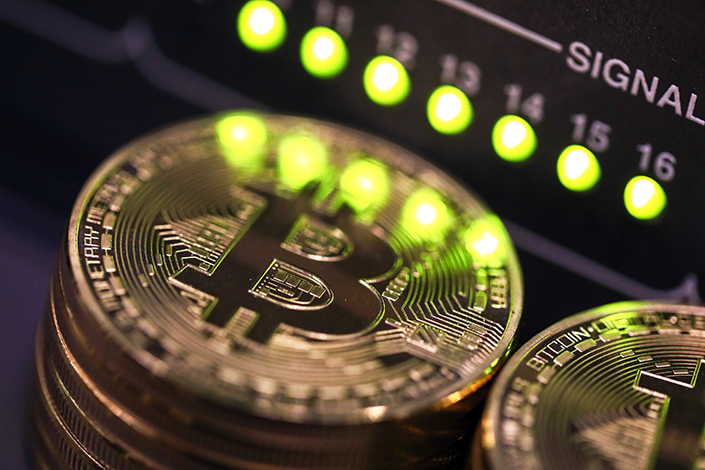 The price of bitcoin has steadied in the wake of its biggest drop since June as investors and speculators reappraised the outlook for initial coin offerings (ICOs). In China, ICOs have surged in popularity this year, raising $398 million worth of new virtual currencies during the first half of 2017. Photo: Visual China
