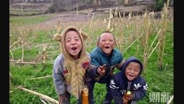 孩子镜头中的凉山村庄