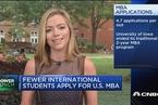 GMAC:申请美国MBA的国际学生人数出现下滑
