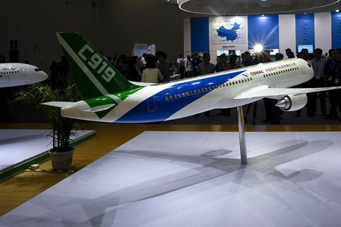 9月19日,中国商用飞机有限责任公司在第十七届北京航展上宣布获得130
