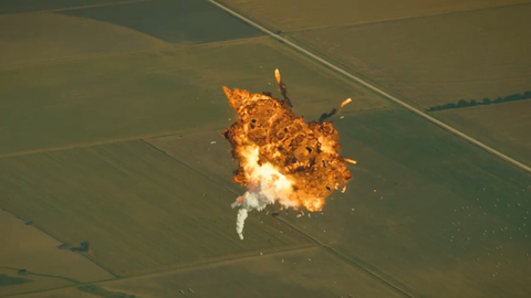 SpaceX发布此前的火箭爆炸失败合集
