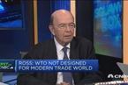 美商务部长:WTO体制已过时 需建立更公平的竞争环境