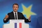 以德国选举为背景 法国总统疾呼重振欧洲一体化改革