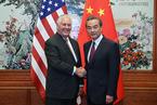 美国务卿结束短暂访华 中美频繁互动为特朗普访华铺路