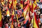 """加泰罗尼亚""""挺统一""""抗议规模空前  首相称不排除暂停该地区自治"""