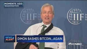 """摩根大通CEO:投资比特币""""毫无价值"""""""
