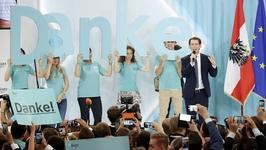 奥地利31岁外长将成欧洲最年轻的总理