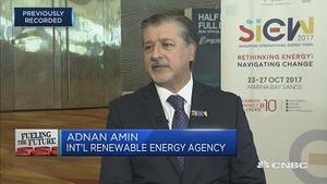 国际可再生能源机构:《巴黎协定》不需美国领导