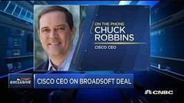 思科CEO谈收购电信软件公司:看重其服务的互动性