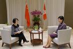 林郑月娥:最关心习近平总书记发言中涉及香港部分