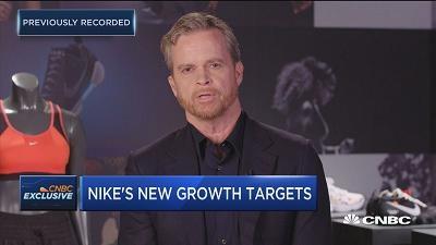 耐克CEO:将在五年内实现500亿美元营收目标