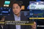 苹果发布财报业绩出色 iPhone X提振下季度收入预期
