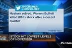 巴菲特减持IBM增持苹果