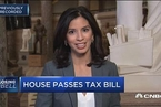 美国众议院通过税改法案