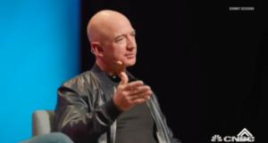 贝佐斯:若30岁时我没创办亚马逊 80岁时我会很后悔