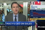 """梅西百货CEO谈""""黑五"""":今年不需要用甩卖来清理库存"""