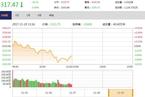 今日午盘:周期股逆市飘红 沪指震荡跳水跌0.49%