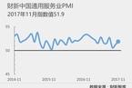 11月财新中国服务业PMI升至51.9